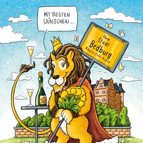 Bedburger Löwengruß