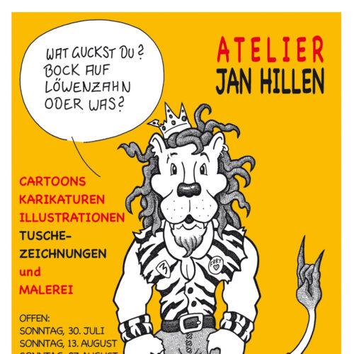 Plakat 1: Bock auf Löwenzahn?