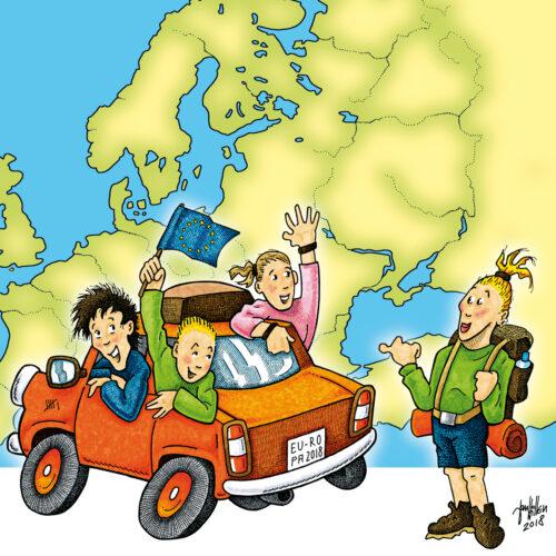 Road Trip Europa